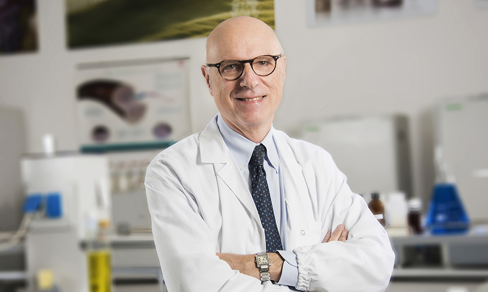 Professor Berardesca of the Skin Product Testing Center