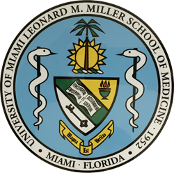 Seal for the University of Miami Leonard M. Miller School of Medicine